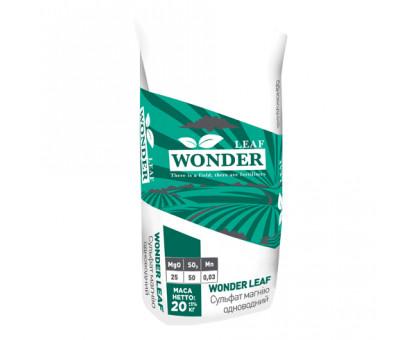 Сульфат магнію Wonder leaf MgS 25-50, 20 кг